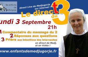 Medjugorje, 3 septembre