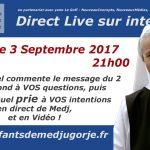 Direct du 3 septembre à Medjugorje