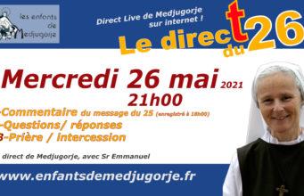 message 25 mai